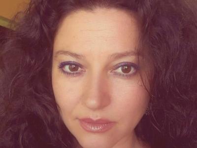 Милена Захариева преди премиерата на